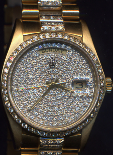 Rolex Presidential Diamonds
